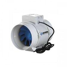 Aspiratore-estrattore aria Blauberg elicoidale Bi-turbo cablato -125mm 280 M3/h