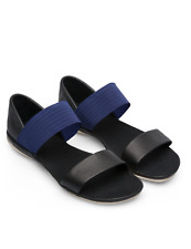 Camper Right 21735-073 Women Sandals Smooth Leather Black