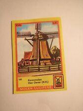 Molen Lucifers - Den Oever - Korenmolen - Windmühle / Streichholzetikett