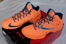 Nike LeBron XI Atomic Orange Size 12 Men's Basketball Shoes