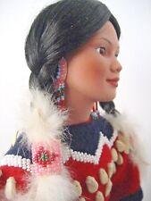 Judy Belle Native American Porcelain Doll for Dansbury Mint 1993 Gentle Dove