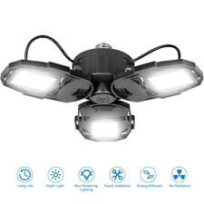 80W LED Garage Lights Deformable Garage Light with 3 Adjustable Wings 8000LM E26