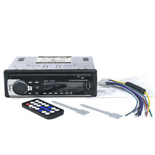Bluetooth Car Stereo Audio Radio Player Receiver In-Dash FM Aux Input MP3 H6Y5