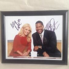 Live With Kelly And Michael Live With Kelly Ripa And Michael Strahan Autographed