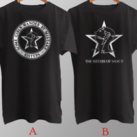 The Sisters of Mercy English Rock Band T-Shirt Cotton Brand New