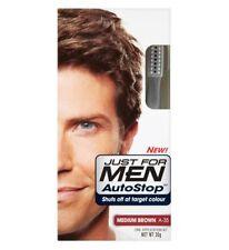 Just For Men AutoStop Mens Hair Colour Dye Restorer MEDIUM BROWN Colouring