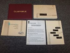 1996 Oldsmobile Achieva Owner's Owner User Guide Manual Set SC SL 2.4L 3.1L V6