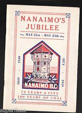 SUPERFLEAS Original 1949 Nanaimo Jubilee 36 pg booklet. Fine condition