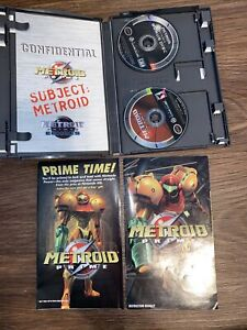Metroid Prime w/ Echoes Bonus (Nintendo Gamecube) Complete, Tested and Working