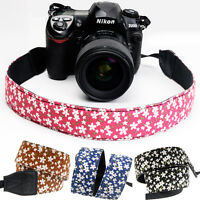 4 Color Camera Shoulder Neck Strap Belt Hand Grip DSLR SLR Camera Shoulder Strap