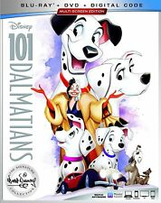 USED Blu Ray 101 DALMATIANS NO DIGITAL CODES (SEE DESCRIPTION)