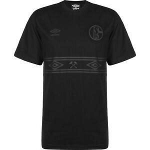 Umbro FC Schalke 04 Stealth T-Shirt Herren NEU