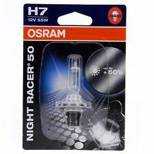 H7 OSRAM Night Racer 50% Motorrad Lampe 64210NR5-01B Blister Box 1 Stück