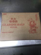 Square Glassine Bag - 1000/Case1/2 lb .