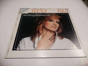 Mina Merveilleusement Vol. 3 LP Bdl 8526 Cgo Record Rachael Califano Disco