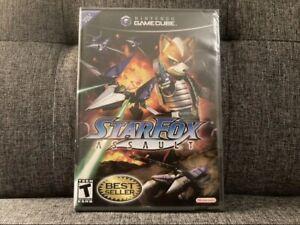 Star Fox: Assault Black Label, Factory Sealed (GameCube, 2005)