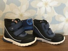 New Stride Rite Baby Boy Boots 10M Waterproof Memory Foam Leather Snow Boots