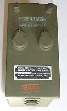 RM-52 récepteur du RC261 Signal-Corps mais aussi testeur de micro et casque WWII