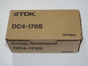 Box of 10 x TDK DAT72 / DAT 72 Data Tapes/Cartridges 36/72GB DC4-170S 4mm NEW