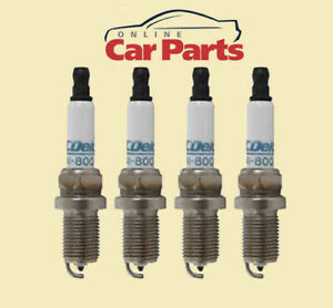 SPARK PLUGS ACDelco suitable for HONDA JAZZ 1.5L GD 2002-2014 PLATINUM 160,000KM