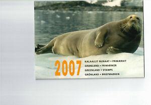 GRÖNLAND-- Jahresbriefmarkenheft 2007  postfrisch