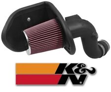 K&N 63 Series AirCharger Air Intake System For 2016-2017 Chevy Malibu 2.0L Turbo