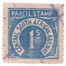 (I.B) Transvaal Railways : CSAR Parcel Stamp 1/-