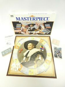 Masterpiece Board Game by Parker, 1987, Complete - The Art of Auction