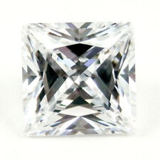 1.00CT PRINCESS CUT D Color My Russian Diamond Simulant Lab Created Loose Stone