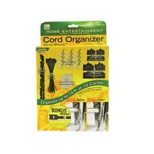 Gardner Bender WMK-HE12 Home Entertainment Cord Organizer Kit, FREE SHIP