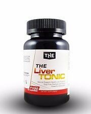 THE Liver Tonic 100 Kapseln Mariendistel + N-Acetyl Cystein (49,76€/100g) NAC