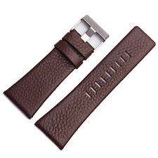 High Quality Genuine Leather Replacement Watch Strap Band Fits Diesel Watch
