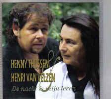 Henny Thijssen&Henri Van Velzen-De Nacht Is Mijn Leven Promo cd single