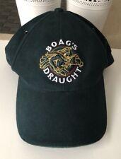 BOAG'S DRAUGHT Beer Baseball Hat Cap Beer Promotion Advertising Green Vintage