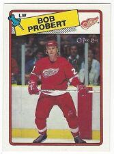 1988-89 OPC HOCKEY #181 BOB PROBERT ROOKIE - NEAR MINT