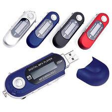 Portátil USB MP3 Reproductor De Música Digital pantalla LCD Para 32GB Tarjeta TF