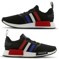 Adidas NMD R1 JPN Trainers Mens Size 12.5 UK / EU 48 Black Blue Red White Shoes