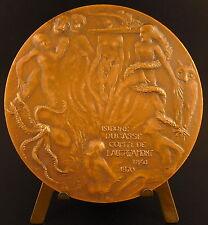Medaille Comte de Lautréamont Créature pieuvre Otopus fantastic creatures medal