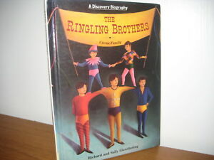 Discovery/ ringling Brothers/ chelsea House/  hardback/ illustrated/ 1991