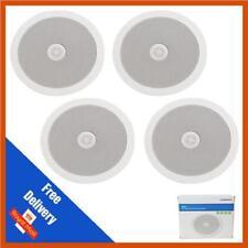 Adastra 4 Surround Sound Ceiling Speakers Directional Tweeter 100w Easy Fit BNIB