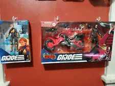 GI Joe Classified Baroness And Scarlett Lot (MIB)