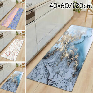 Kitchen Door Mat Home Floor Rug Carpet  Clean,Non-Slip,Waterproof