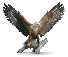 Lladro Freedom Eagle Sculpture 01009245 Porcelain Collectible