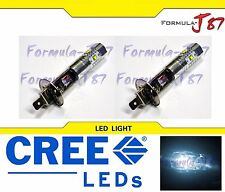 LED 30W H1 White 6000K Two Bulbs Head Light Replacement High Beam Lamp Fit