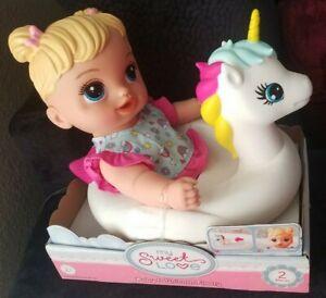My Sweet Love Baby Doll w/ Unicorn Floaty Play Set