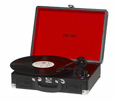 Denver VPL -120 blackmk 2 vinilo tocadiscos USB digitalisierungsfunktion soportable