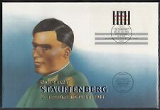 C 25 ) Germany Fantastic Cover  - Colonel von Stauffenberg of a Giant FDC