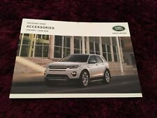 Land Rover Discovery Sport Accessories Brochure - Jan to June 2016