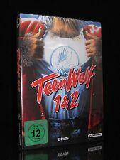DVD TEEN WOLF 1 & 2 (Teenwolf) MICHAEL J. FOX + JASON BATEMAN - 80er Komödie *