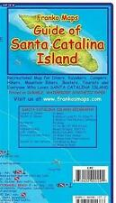 Franko's Soft Laminated Waterproof Catalina Island Dive Map Foldout Diving Guide